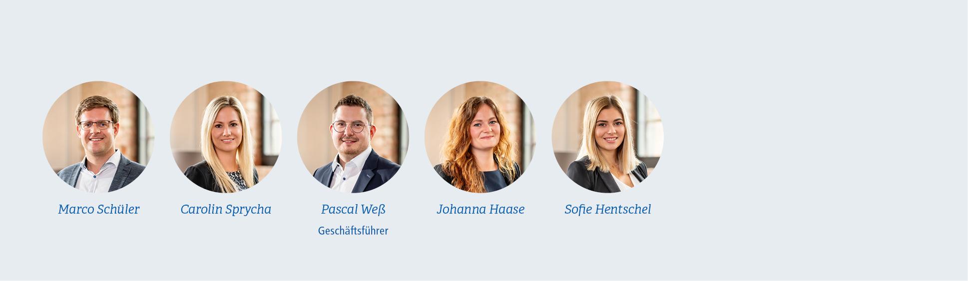 Mitarbeiter VR Immobilien GmbH
